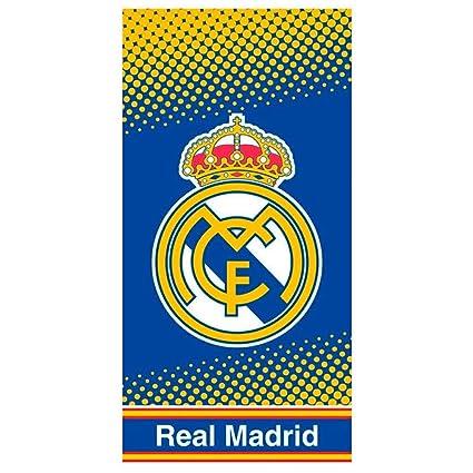 Cerdá Toalla De Playa Real Madrid Microfibra 70x140cm.