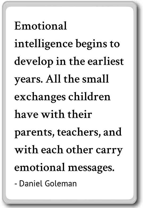 Amazon Emotional Intelligence Begins To Develop In Daniel