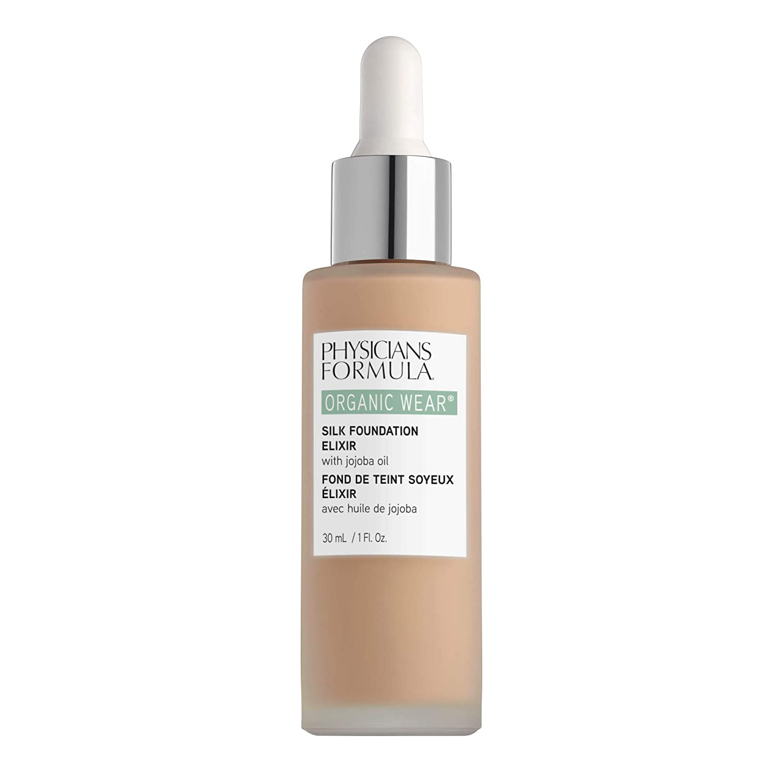 Physicians Formula Organic Wear Silk Foundation Elixir, 2 - Fair-To-Light, 1 Fl Ounce