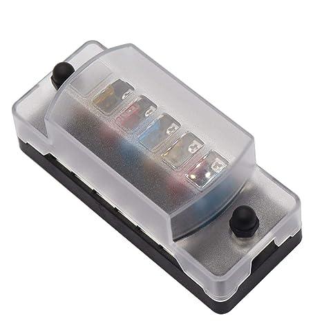 replacing old fuse box amazon com gloaso rv boat 6 circuit blade atc ato fuse box with  gloaso rv boat 6 circuit blade atc ato