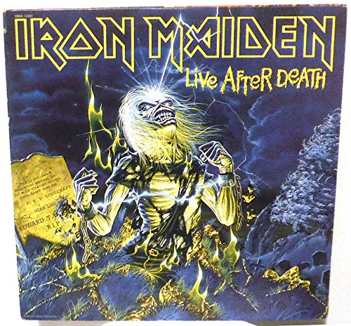 Iron Maiden - Max Dedication 70% OFF Live After Death melodic rock metal