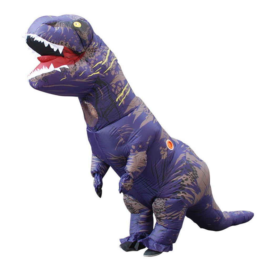 Adult Dinosaur Inflatable Costume Jurassic World T-Rex Cosplay Costume