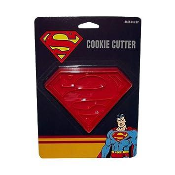 Molde Para Galletas De Logo De Superman Masa Insignia Superheroe En