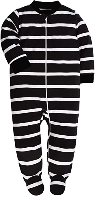 Both Meet Yuan Baby Cotton Cartoon Pajamas Baby Girls and Boys Long Sleeve Romper