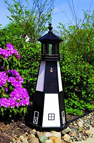 4′ Lighthouse – Cape Henry (White/Black)