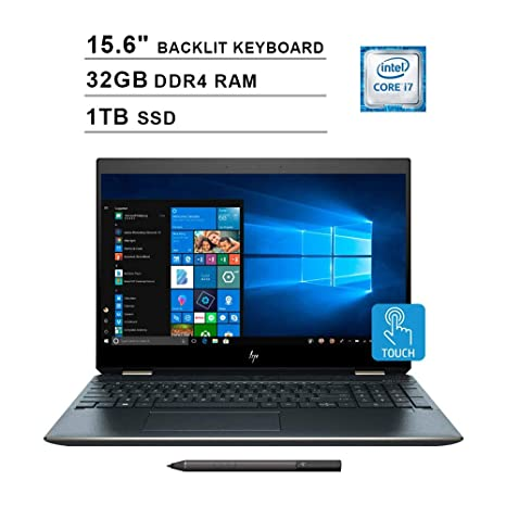 Amazon.com: 2019 HP Spectre X360 15 2-in-1 15.6 Inch 4K ...