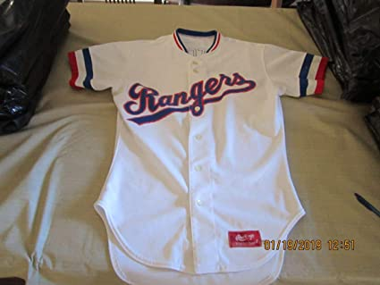 innovative design 4c35e ecfb5 1985 Texas Rangers Bat Boy Game Used Jersey set 1 at ...