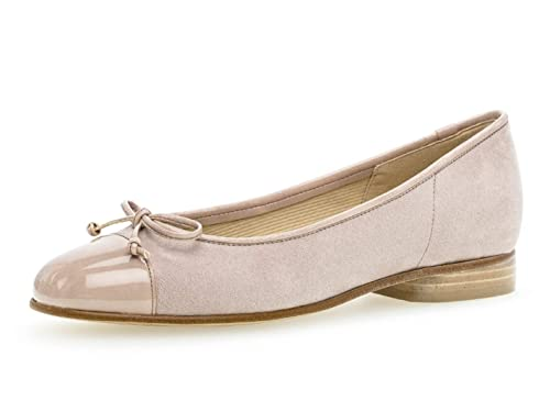 5be79cabd5 Gabor 25.102 Women,Classic Ballerinas,Flats,Summer Shoe,Elegant,Bow tie