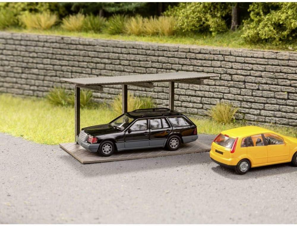Noch 14676 Self-Supporting Carport Landscape Modelling