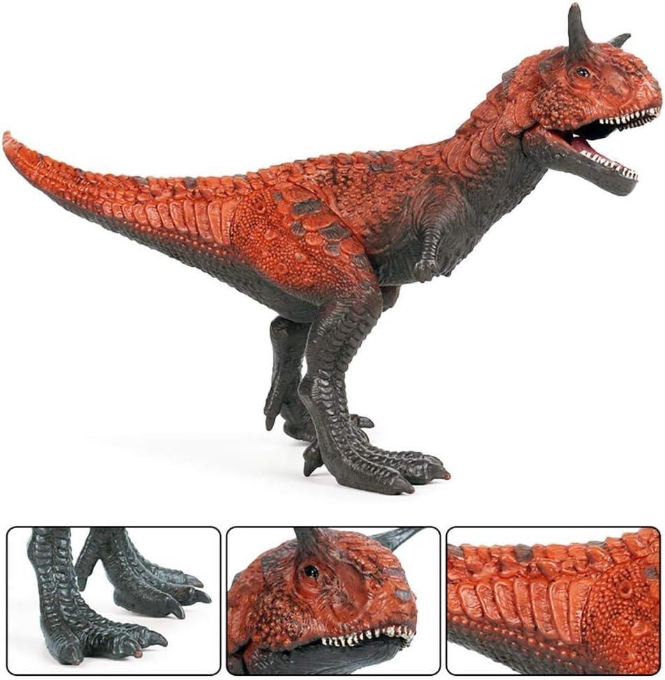Figure De Dinosaure R/éaliste Jouet Figurine De Dinosaure Pr/éhistorique Peint /À La Main Collection Mod/èle De Vie pour 3 Jurassic World Action Attack Figure Carnotaurus TARTIERY Carnotaurus Ans
