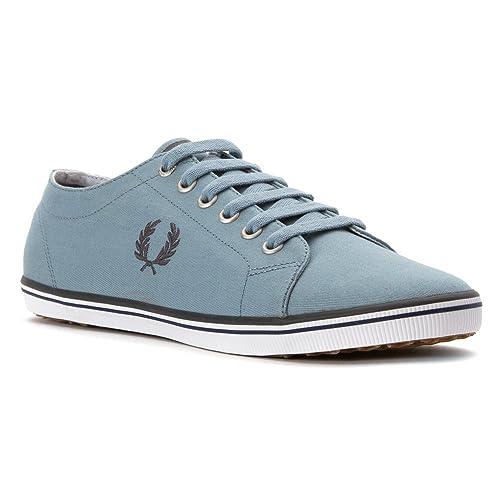 Fred Perry - Zapatillas de Deporte Hombre, Azul (Azul), 40: Amazon.es: Zapatos y complementos