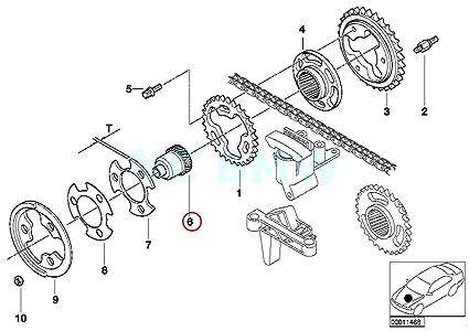 Amazon Com Bmw Genuine Splined Shaft Automotive