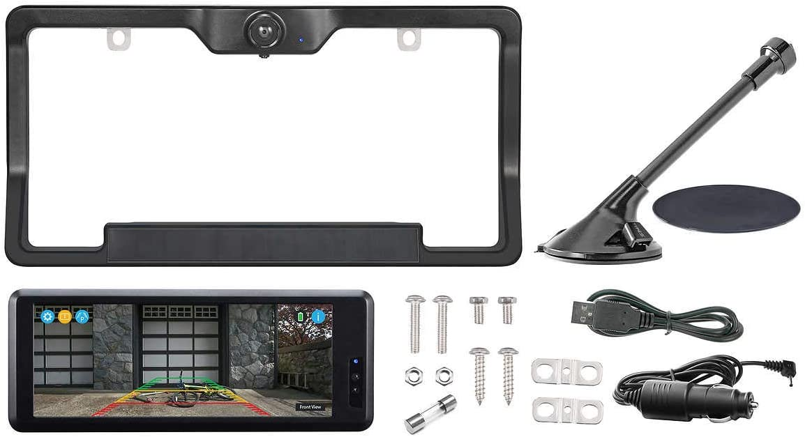 "Type S 6.8"" Wide Screen Solar Powered HD Wireless Backup Camera"