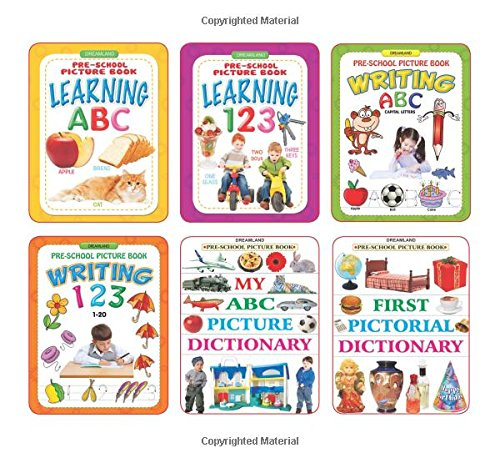 Pre School Books - Pack (6 Titles)