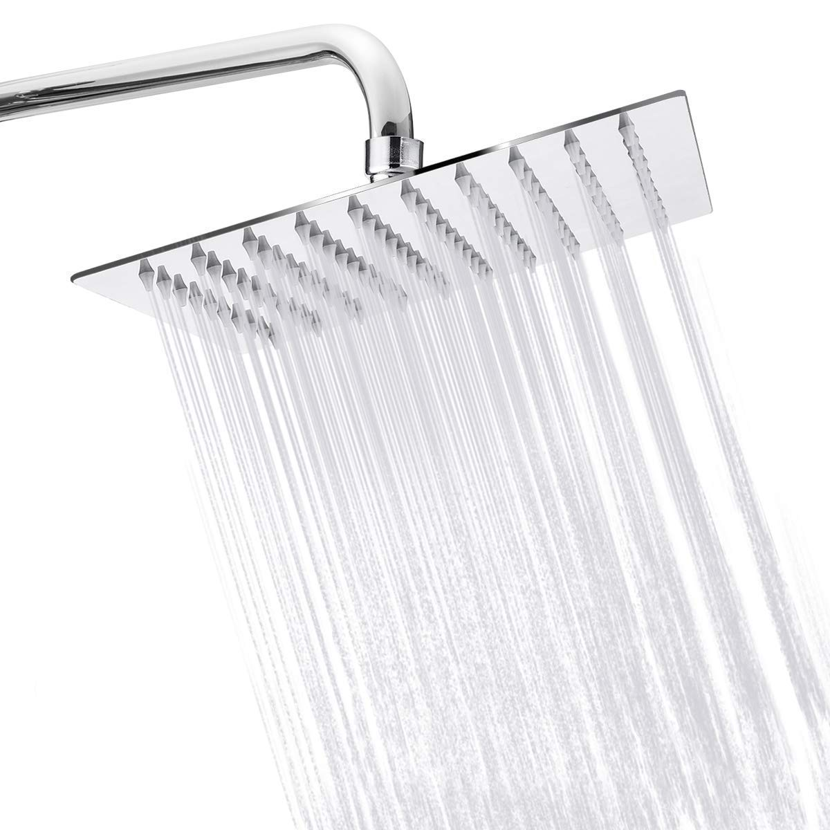 "AquaIV 8"" High Pressure Rainfall Shower Head"