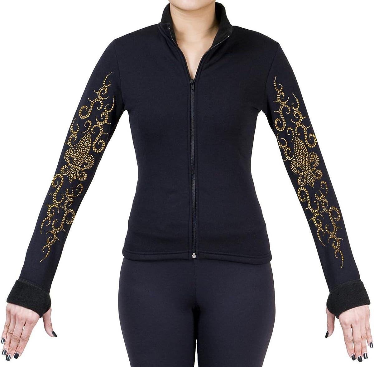 Purchase ny2 Sportswear Figure Skating Polartec Jacket Polar with Max 85% OFF Fleece
