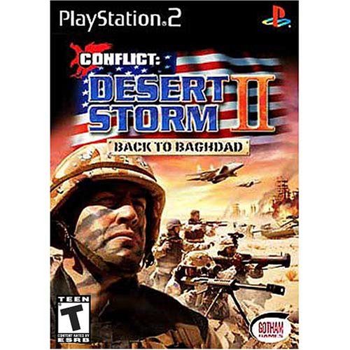 Conflict:  Desert Storm II - Back to Baghdad - PlayStation 2 (Desert Storm Game)