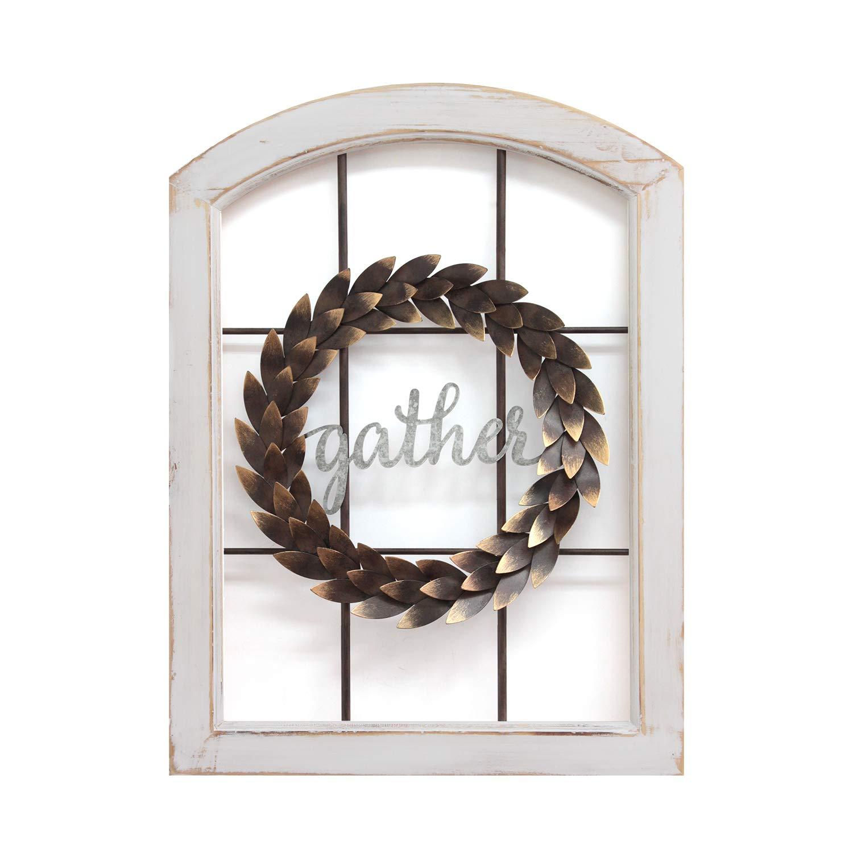 Stratton Home Decor -- Dropship, us home, SUHQX Stratton Home Window & Wreath Wall Decor Décor, Multi
