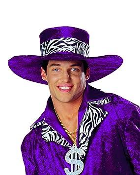 Horror-Shop sombrero rapero Big Daddy púrpura  Amazon.es  Juguetes y ... 72bcc6229d2