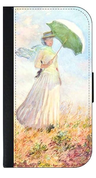 Amazon Com Claude Monet S Woman With An Umbrella Painting Print