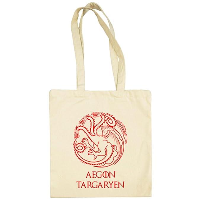 Targaryen Tronos Beige38 Tela X 42 Cm Juego Aegon Bolsa De CrxsdthQ