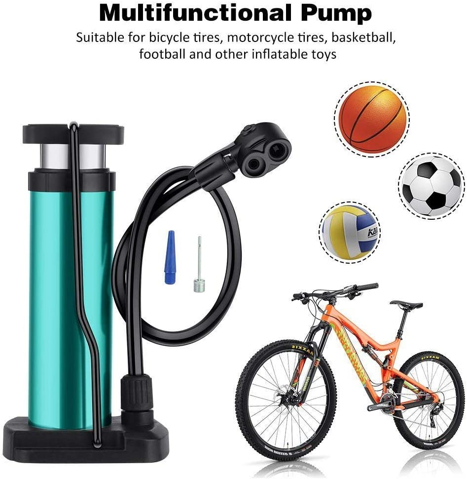 Schwinn Aluminum Frame Pump Ergonomic Portable Hand Air Bike Bicycle Ball Tire