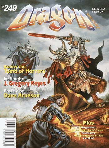 - Dragon Magazine, No 249: June/July (Monthly Magazine & Annual)