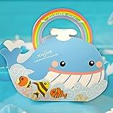 ハッピーフレンズ・クジラ (可愛い 動物 箱 に お菓子 と クッキー ラスク 詰め合わせ )