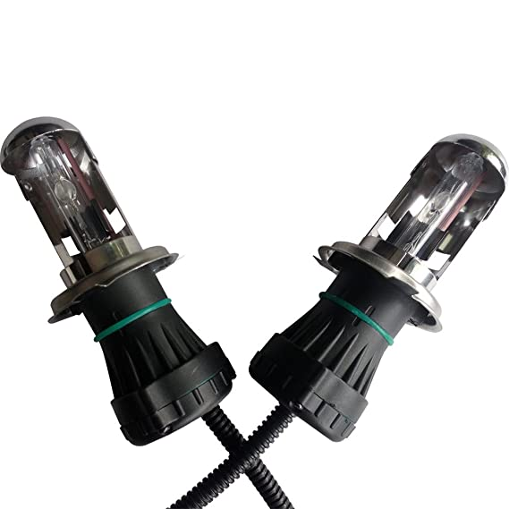 Amazon.com: Bi-Xenon Hi/Low Dual Beam HID Kit H4 9003 Replacement of Halogen Aftermarket Light Bulbs Headlights 6000K 35W(Pack of 2): Automotive