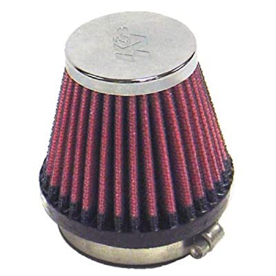 K&N Universal Clamp-On Air Filter: High Performance, Premium, Replacement Engine Filter: Flange Diameter: 2.125 In, Filter Height: 2.75 In, Flange Length: 0.625 In, Shape: Round Tapered, RC-2340: Automotive