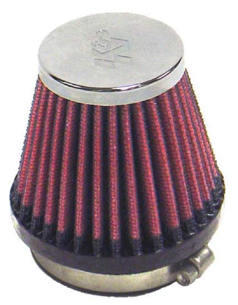 K&N Universal Clamp-On Air Filter: High Performance, Premium, Replacement Engine Filter: Flange Diameter: 2.125 In…
