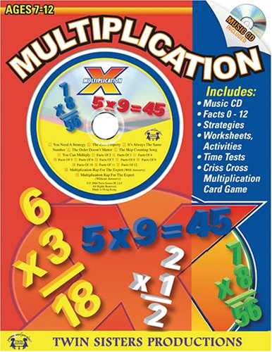 Multiplication Workbook, Ages 7-12: Twin Sisters Productions ...