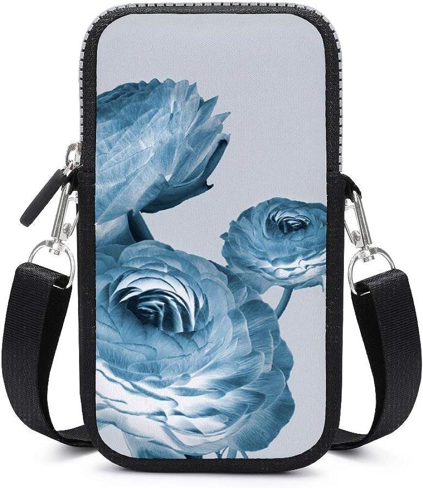 Monedero para teléfono celular con correa para el hombro extraíble, 3 lotos, impermeable, funda para brazaletes de dinero, cartera para correr, unisex