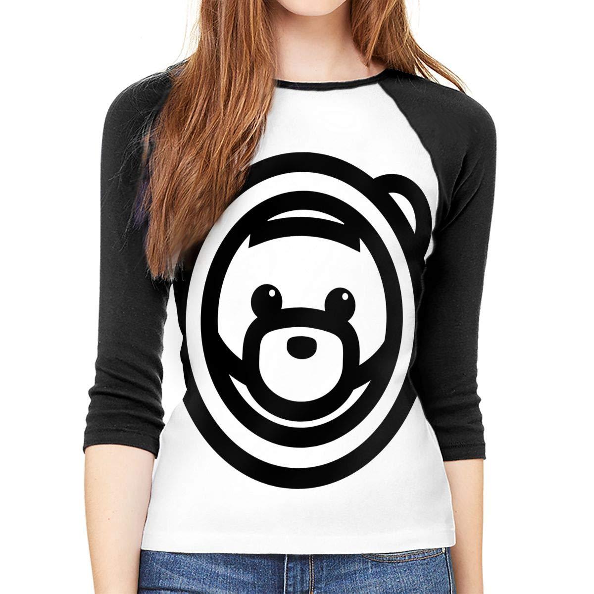 WangSiwe Ozuna Womens Shirt 3//4 Sleeve Casual Scoop Neck Tops Tee S-XXL Black T-Shirt