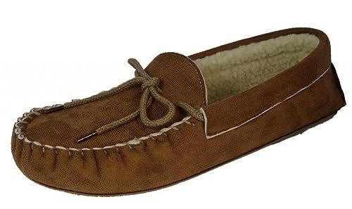 DunlopDaniel - pantuflas mocasines hombre , color Beige, talla 44: Amazon.es: Zapatos y complementos