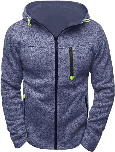 sweatshirt zippé homme capuche