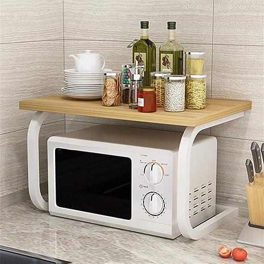 Zjcpow-HO Estante de la Cocina Horno microondas Bastidores de ...