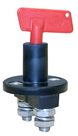 HELLA 002843011 2843 Series 50A Rating Battery Master Switch Battery Switches