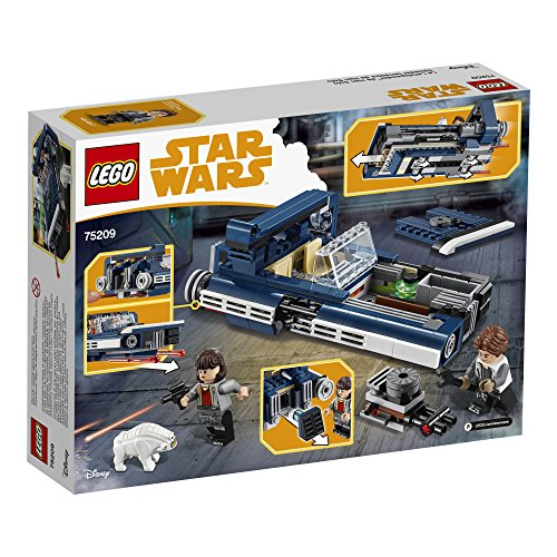 LEGO-Star-Wars-Han-Solos-Landspeeder-75209-Building-Kit-345-pieces