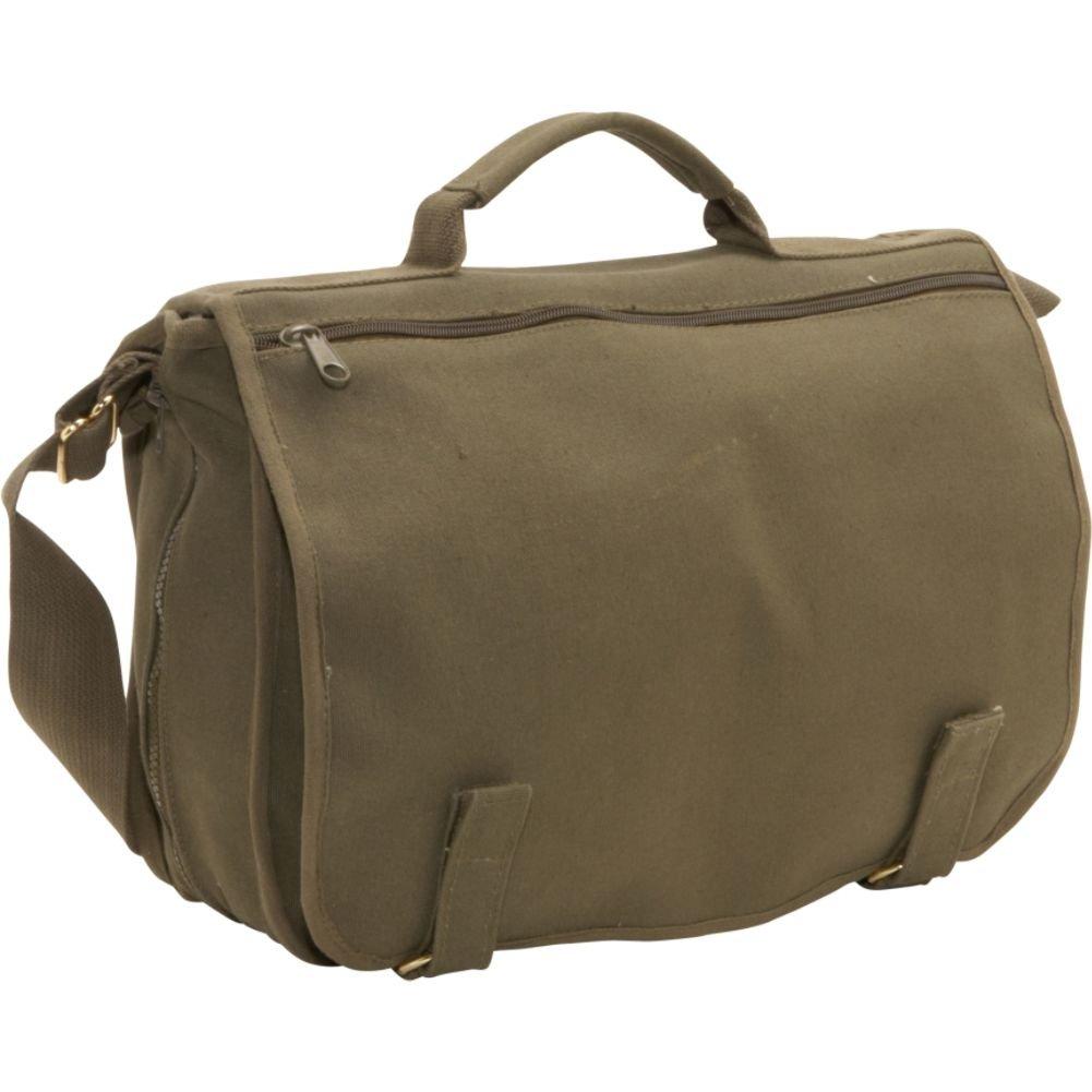 ff47fd237e Amazon.com  Rothco Canvas European School Bag