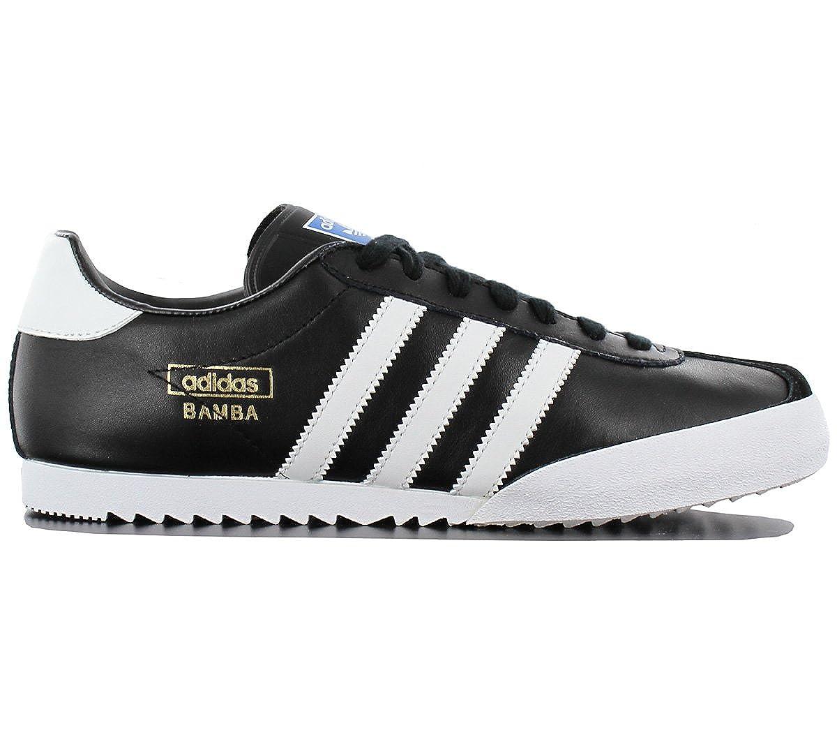 Adidas Bamba Color: Black Size: 9.5: Amazon.co.uk