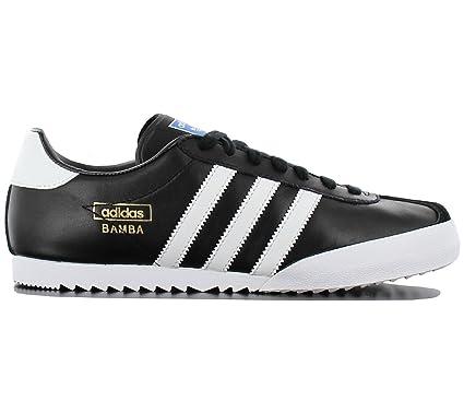 adidas - Zapatillas para Hombre Negro y Blanco: Amazon.es: Zapatos y complementos