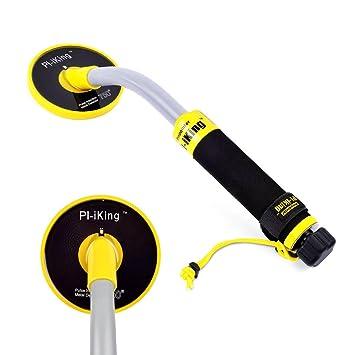 HUKOER PI-iKing 750 Detector de metales completamente resistente al agua hasta 30M con LED de vibración PinPointer Inducción de pulso: Amazon.es: Bricolaje ...
