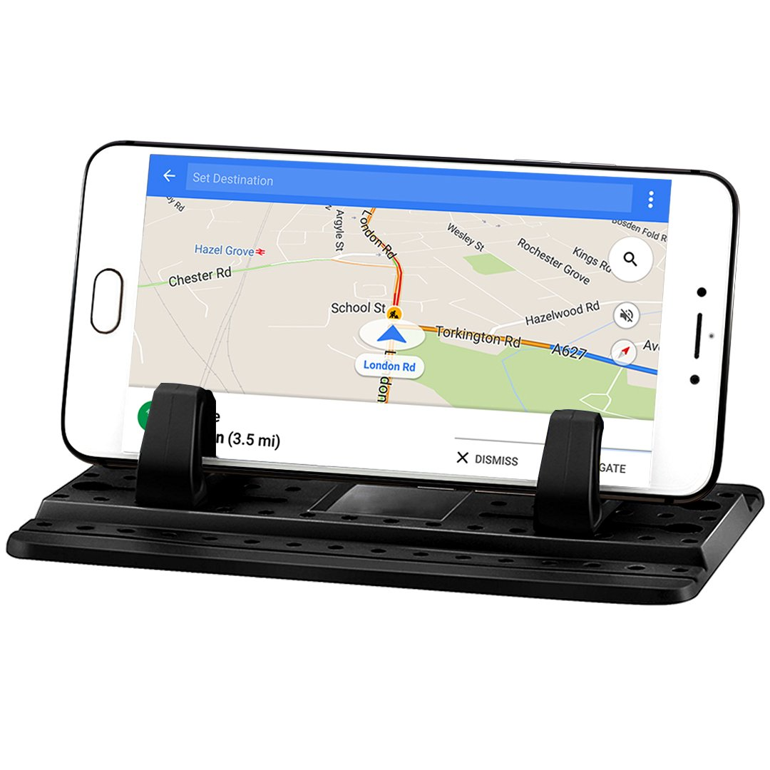 Third Generation, Dashboard Cell Phone Holder for Your Car or Office Desk | Stable Phone Mount For Car Dashboard | Logo Free For Better Car Interior Aesthetics