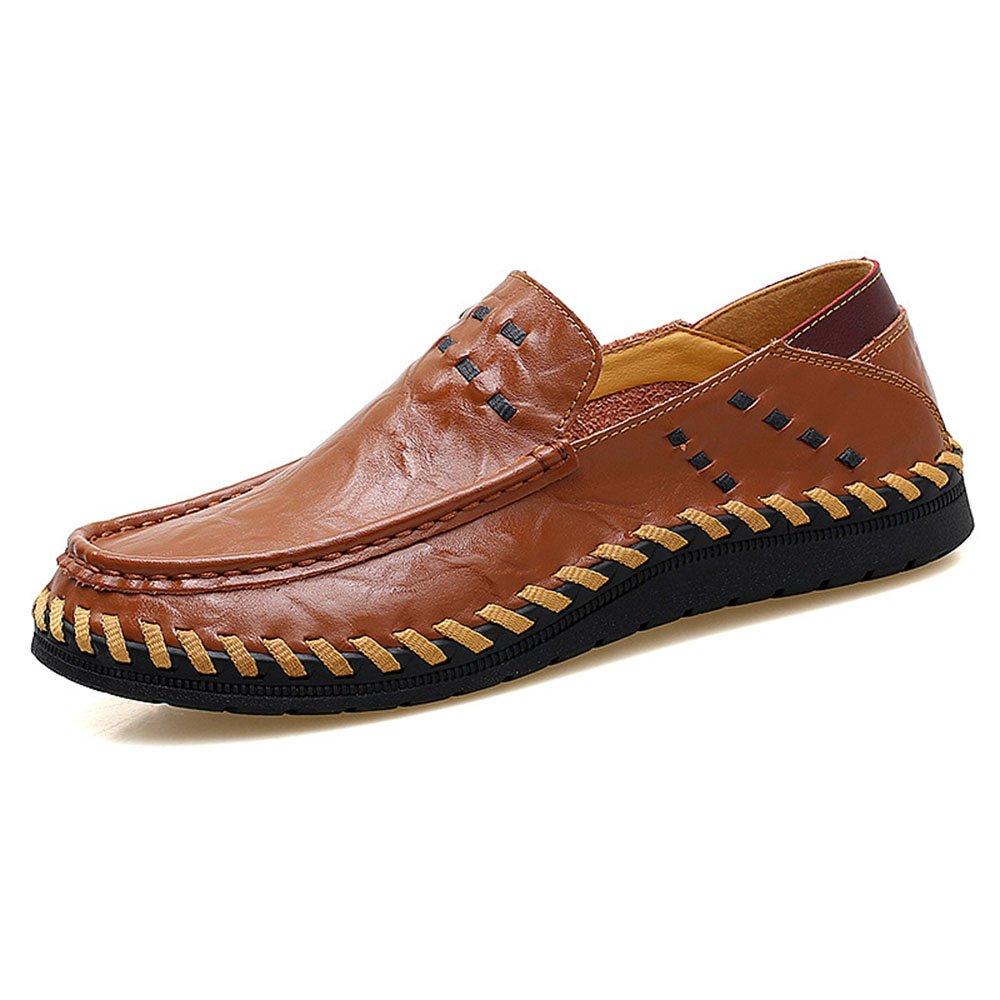 Zapatos de Cuero para Hombres con Zapatos Hechos a Mano de Cuero al Aire Libre 38 2/3 EU|Marrón