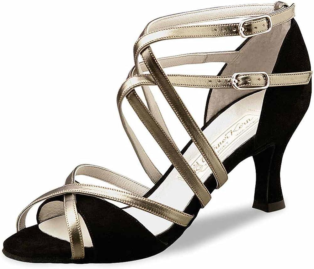 Werner Kern Chaussures de Danse Eva Cuir Perl Nude 6,5 cm