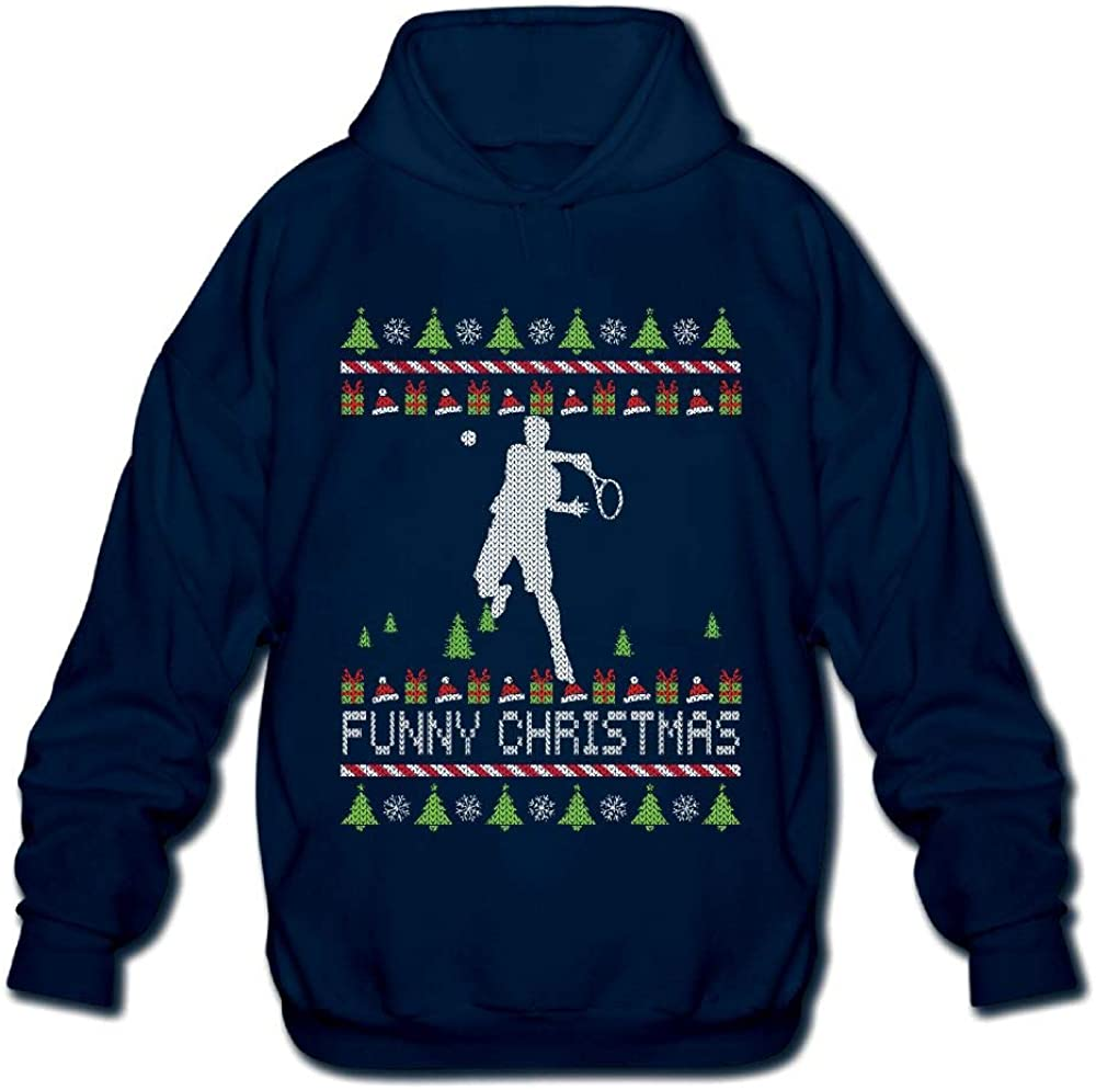 OPQRSTQ-O Gecko Mom Ugly Christmas Mens Printed Hooded Sweatshirt Sweater