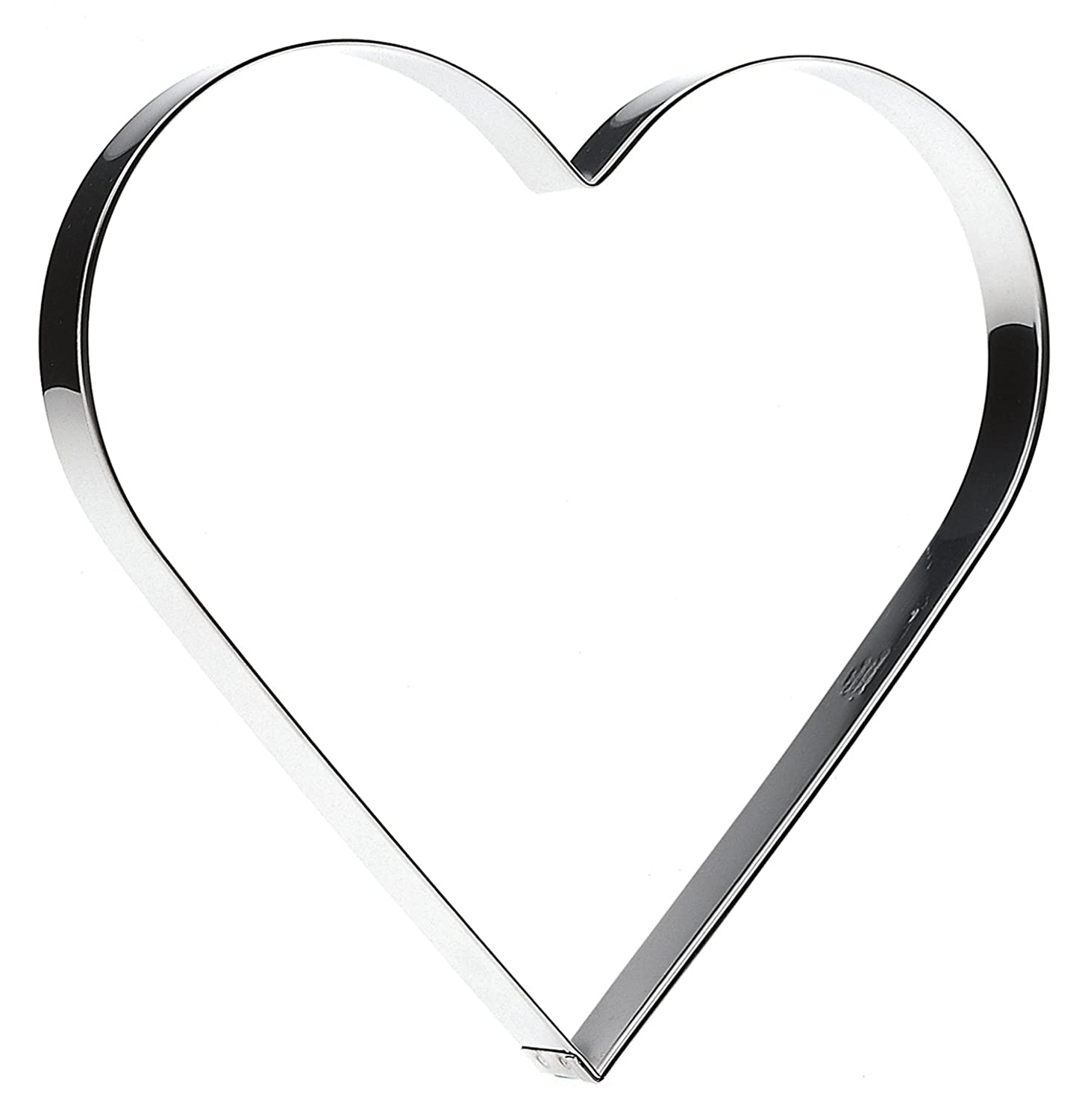 12cm SVEICO 939501-1 Heart Shaped Cookie Cutter