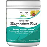 Pure Essence Labs Ionic Fizz Magnesium Plus - Calm Sleep Aid and Natural Anti Stress Supplement Powder - Raspberry…