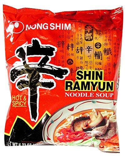 NONG SHIM AMERICA Ramyun Noodle Soup Gourmet, 4.23 Ounce (Pack of - 4.23 Ounce Liquid